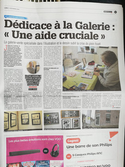 Article dans La Nouvelel Gazette
