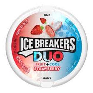 Icebreakers Duo Mint Strawberry