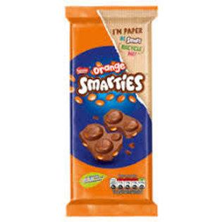 Smarties Orange Bar