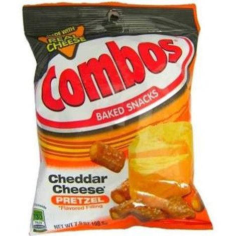 Combo Cheddar Cheese pretzel large bag