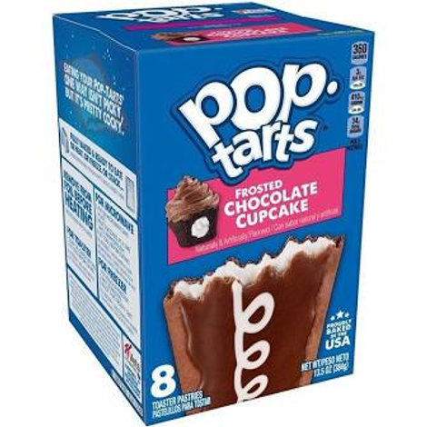 Pop Tarts Frosted Choc Cupcake