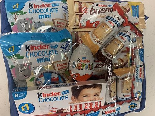 Kinder Chocolate Hamper £10