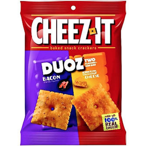 Cheezit Duo Cheddar  Bacon 122g