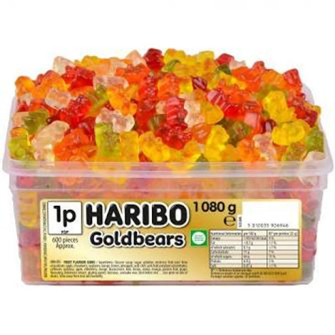 Haribo Goldbears Tub