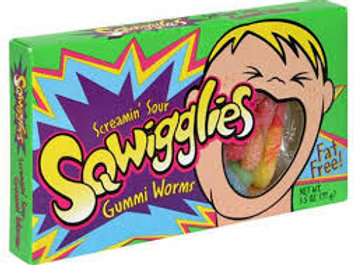 Squiggles Screamin Sour Gummy Worms