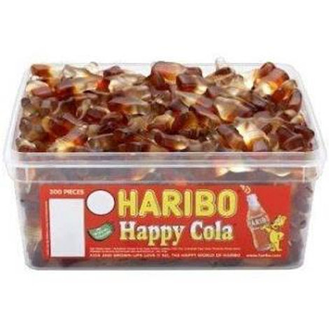 Haribo Mini Cola Bottles Tub