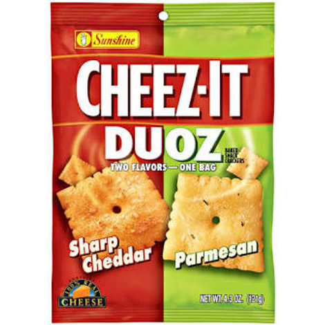 Cheezit duo Cheddar and Parmesan