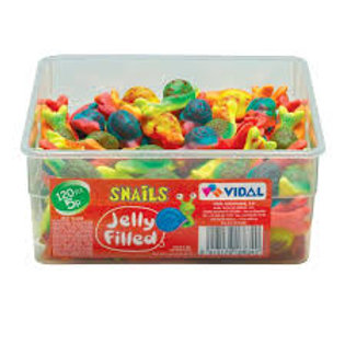 Jelly Filled Snails Tub