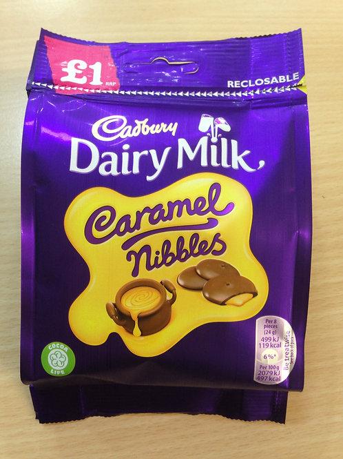 Cadburys Caramel Nibbles