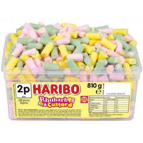 Haribo Rhubarb and Custard Tub