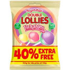 Double Lollys Lickables