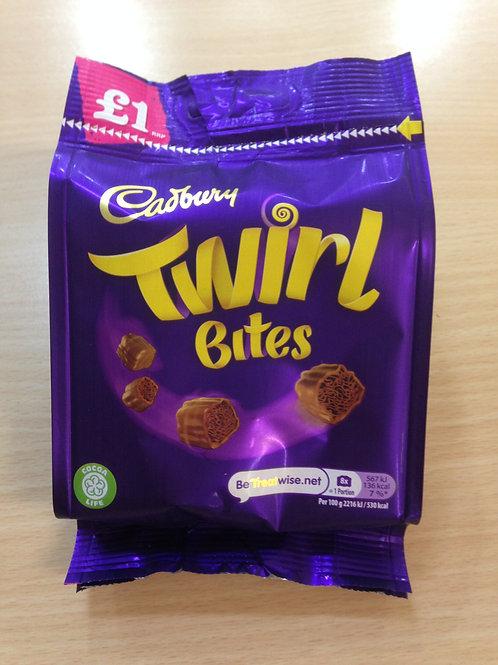 Cadburys Twirl Bites