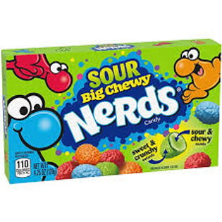 Big Chewy Nerds Sour Theatre Box