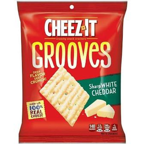 Cheezit Grooves White Cheddar