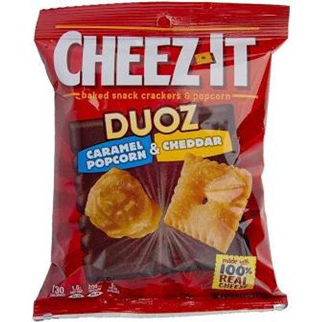 Cheezit duo Caramel pop Cheddar