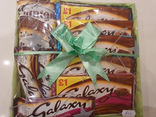 Galaxy Chocolate Hamper £10