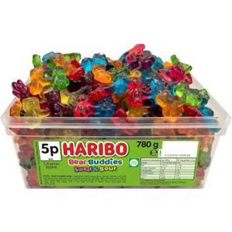 Haribo Bear Buddies Tub