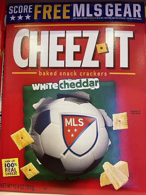 Cheezit white cheddar box