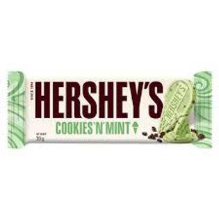Hersheys Cookies and Mint