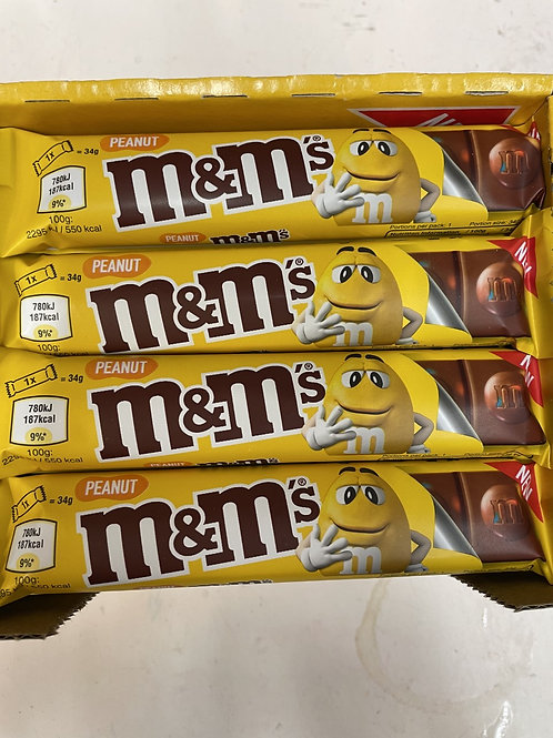 M and M Peanut Bar 35g