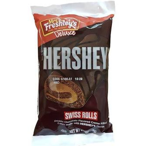 Hersheys Swiss Rolls x2