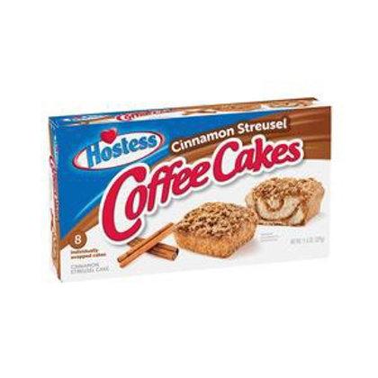 Hostess cinnamon streusel coffee cake ( single cake)