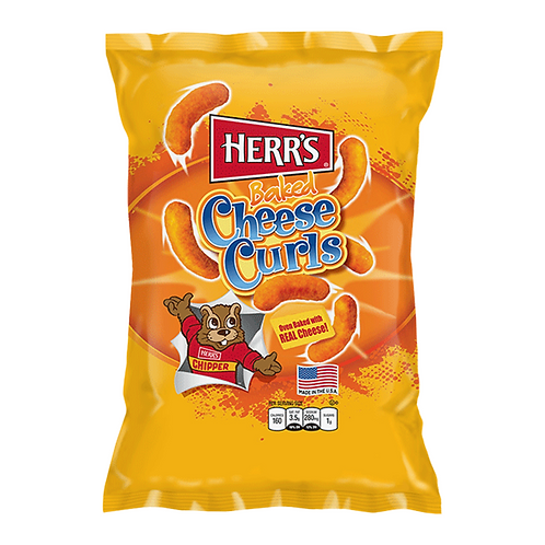 Herr's baked cheese curls large