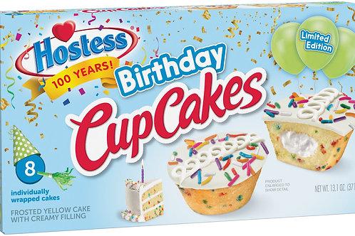 Hostess birthday cupcake ( single cake )