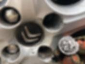 Citroen locking wheel nut removal