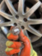 locking wheel bolt removal