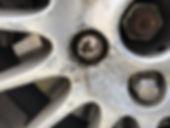 jaguar locking wheel nut removal