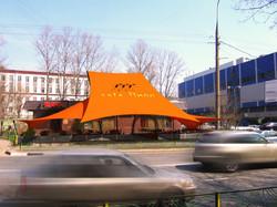 Фотомонтаж проекта летнего кафе