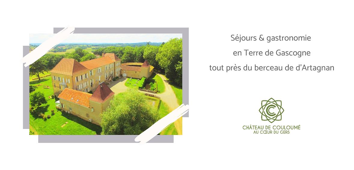 Château de Couloumé-Mondébat & Gîte