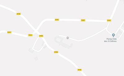 Château de Couloumé plan Google