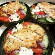 Grilled Chicken Greek Salad