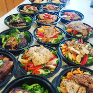 A sea of Meal Prep