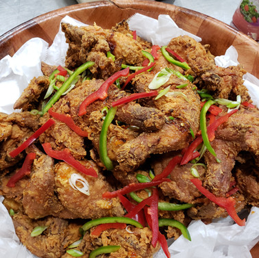 Buttermilk Fried Chicken w Hot Honey
