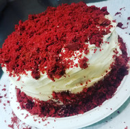 Signature Red Velvet Canoli Cake