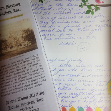 A Letter of Thanks from a Dear Client