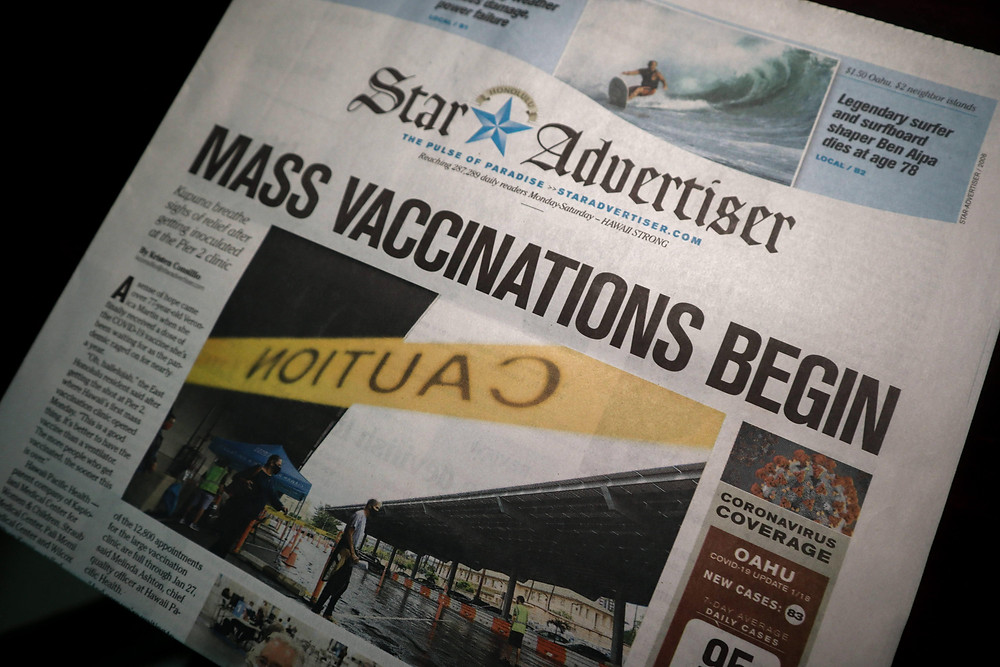 Mass vaccinations against COVID-19