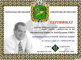 Кубок ім. В.В.Русинова 03.03.2021