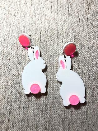 Bunny Hop Acrylic Earrings
