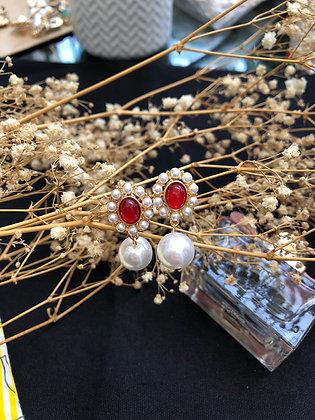Madame Valérie Gemstone Earrings S925