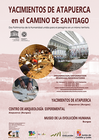 cartel dos patrimonios camino de santiago.png