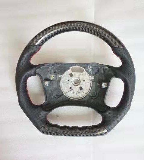 2002-2005 BMW E46 4 spoke Non-Paddle Shifted Carbon Fiber Steering Wheel