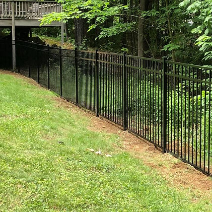 aluminum fence contractor concord nh
