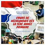 Cours de néerlandais dès la 1ère année p