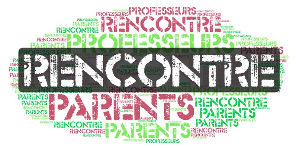 Réunion de parents + verre de bienvenue pour les parents de M1