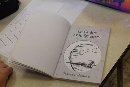 Pierre de Ronsard, Jean de La Fontaine, Charles Perrault, Arthur Rimbaud, ... Les P6 partent à la découverte des grands auteurs.