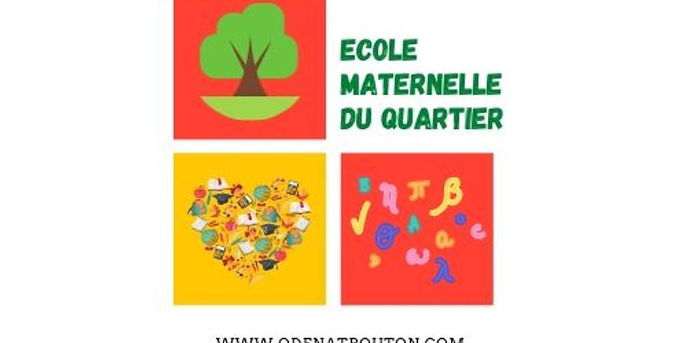 Permanence - Inscription - Ecole Maternelle du Quartier